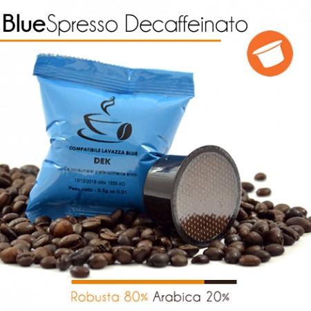 100 Capsule Compatibili Lavazza Blue DECAFFEINATO