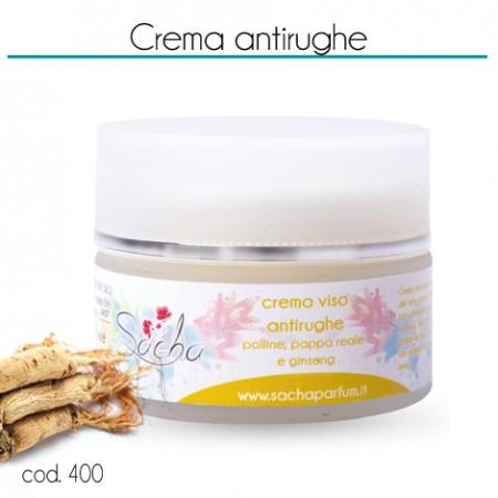 400 Crema antirughe polline, pappa reale e ginseng