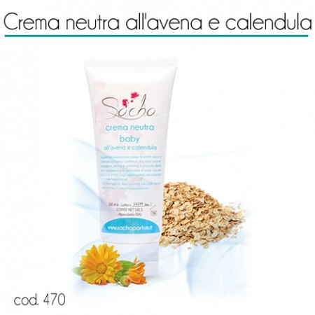 470 Crema neutra all'avena e calendula