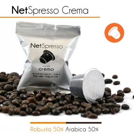 100 Capsule Compatibili Nespresso CREMA