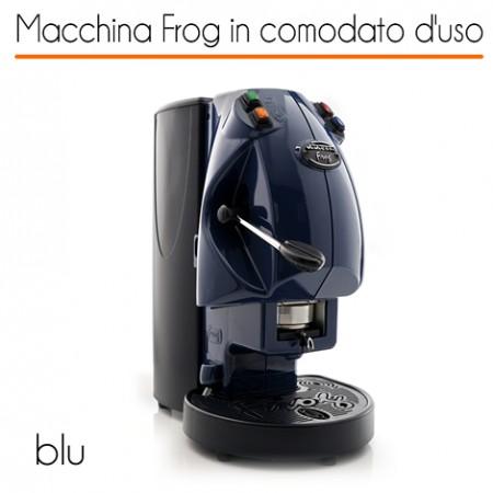 Macchina caffè FROG BLU in comodato d'uso con 600 cialde