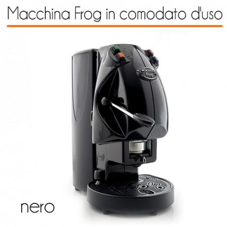 Macchina caffè FROG NERO in comodato d'uso con 600 cialde