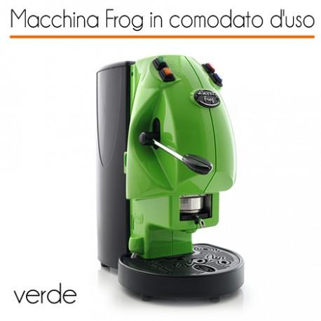 Macchina caffè FROG VERDE in comodato d'uso con 600 cialde
