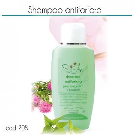 208 Shampoo antiforfora piroctone, ortica e bardana