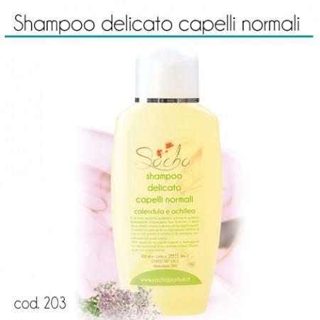 203 Shampoo delicato capelli normali calendula e achillea