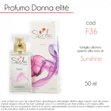 F36 Sunshine di Amouage