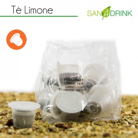 50 Tisane Compatibili Nespresso TE LIMONE