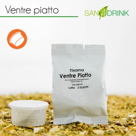 50 Tisane Fap VENTRE PIATTO