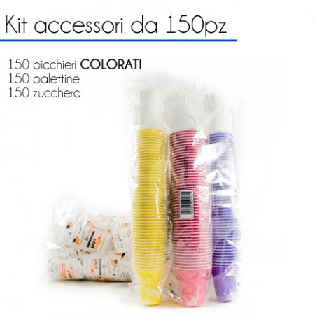 KIT Accessori da 150 pz - COLORATI