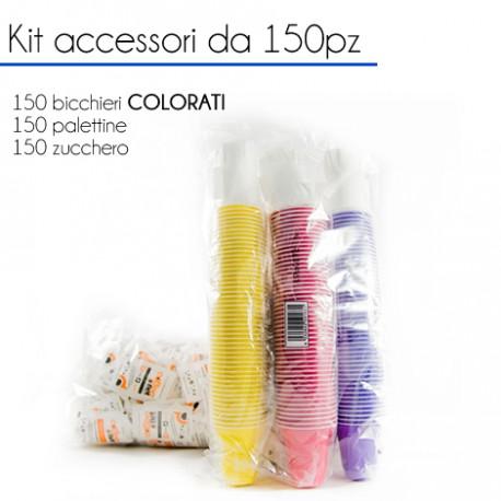KIT Accessori da 150 pz - COLORATI