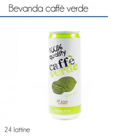 24 lattine caffè verde