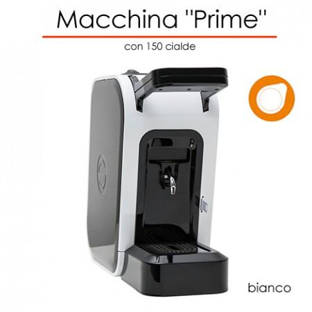 Macchina Prime Ø 44 mm BIANCA con 150 cialde E.S.E.