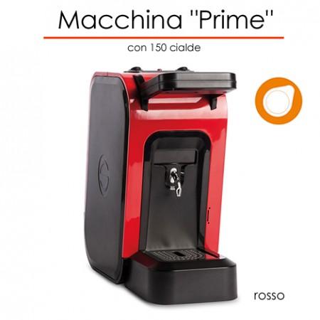 Macchina Prime Ø 44 mm ROSSO con 150 cialde E.S.E.