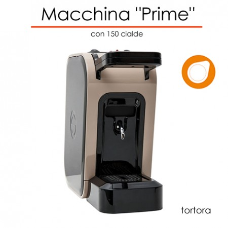 Macchina Prime Ø 44 mm TORTORA con 150 cialde E.S.E.