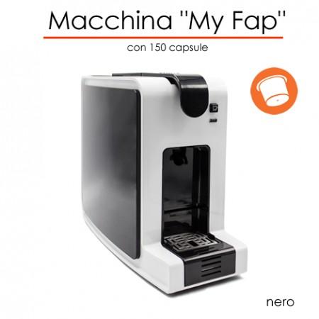 Macchina MyFap NERO con 150 capsule