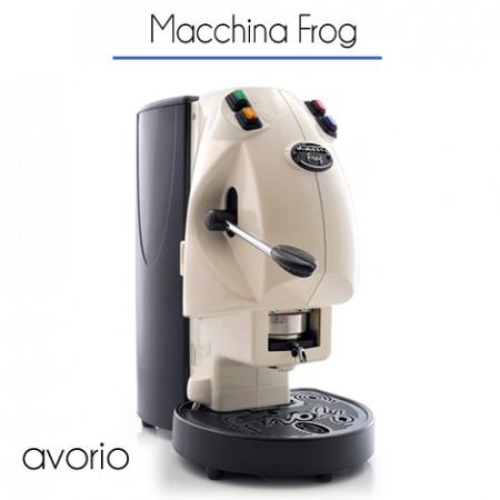 Macchina Frog Ø 44 mm di proprietà AVORIO con 150 cialde E.S.E.