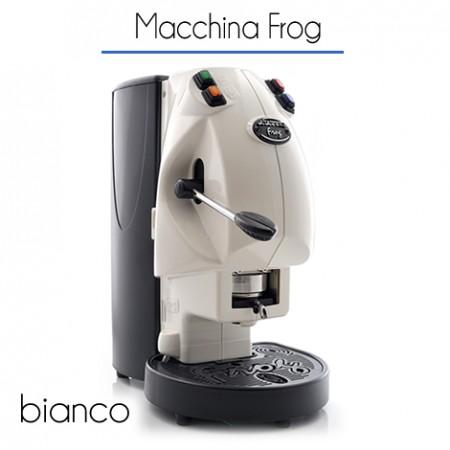 Macchina Frog Ø 44 mm di proprietà BIANCA con 150 cialde E.S.E.