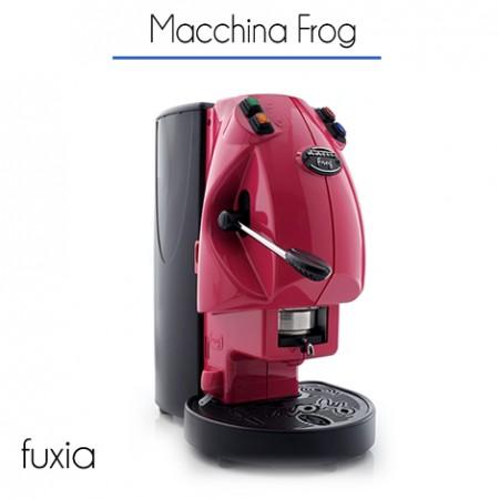Macchina Frog Ø 44 mm di proprietà FUXIA con 150 cialde E.S.E.