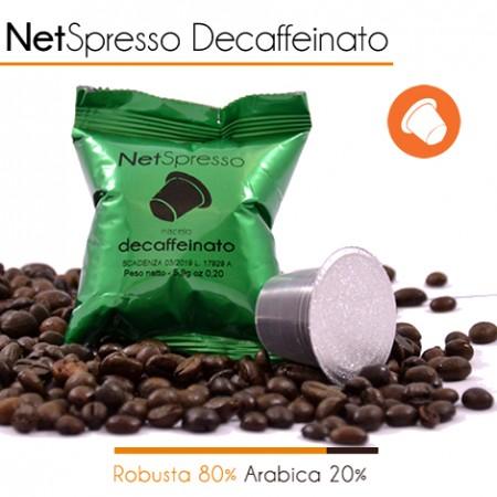 100 Capsule Compatibili Nespresso DECAFFEINATO