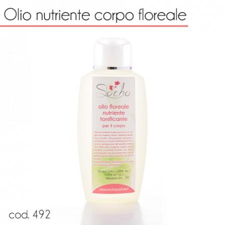 492 Olio nutriente corpo floreale