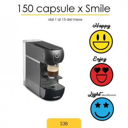 150 Capsule x Smile Incaricato