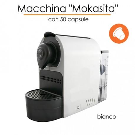 Macchina Mokasita con 50 caffè