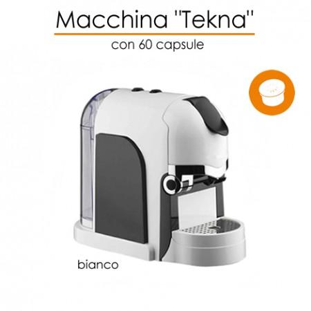 Macchina Tekna con 60 caffè