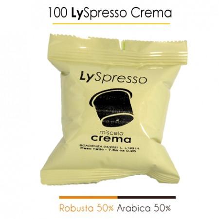 100 Capsule LySpresso CREMA