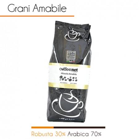 1 kg Caffè in grani AMABILE