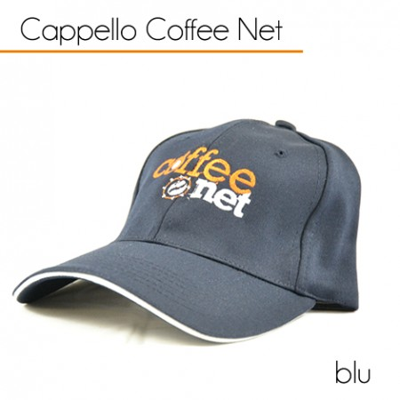 Cappello Blu Coffee Net