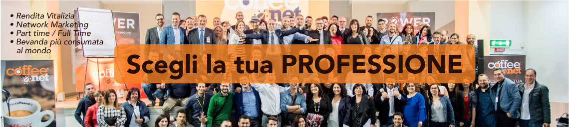 Guadagnare con caffè in network marketing